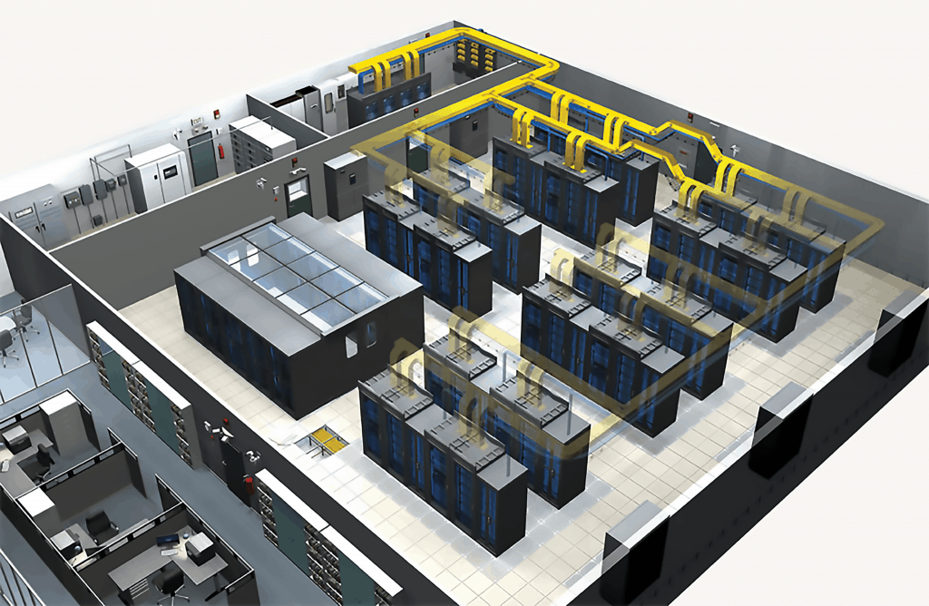 Data Center 3D